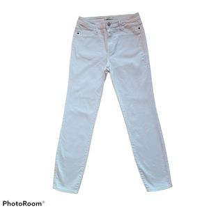 Abercrombie & Fitch White High Rise Jeans Size 4